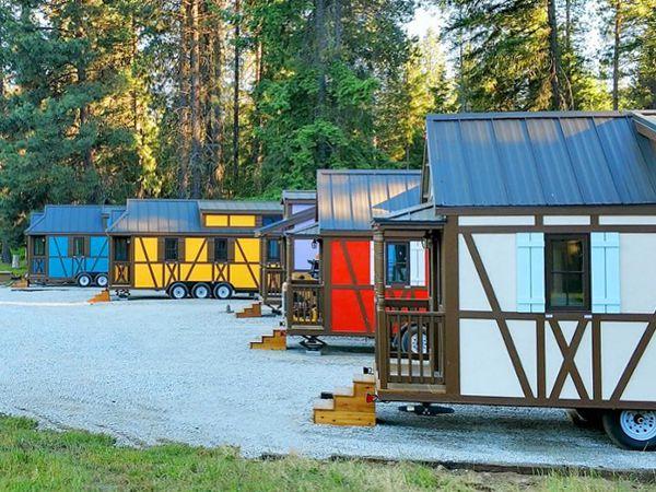Petite Retreats Unique Tiny Houses Yurts Cottages